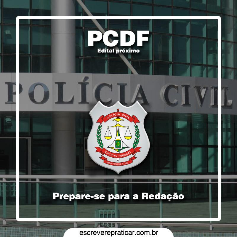 Redação PCDF Escrivão