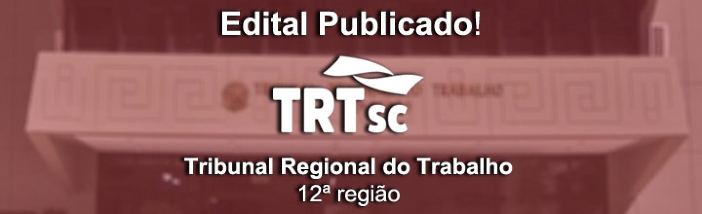 Concurso TRT SC